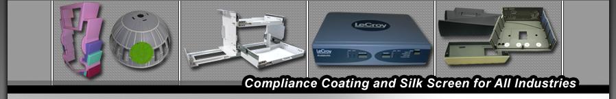 Compliance Coating, Industrial Powder Coating, Spray Coating